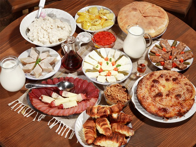 Traditional Serbian cuisine
