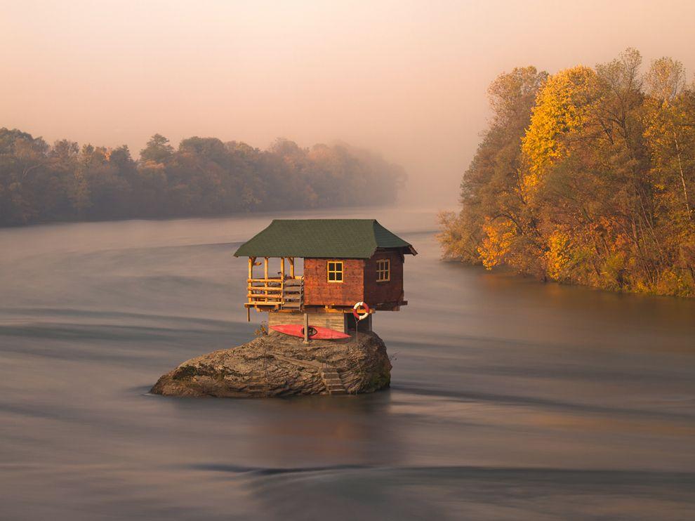drina house serbia