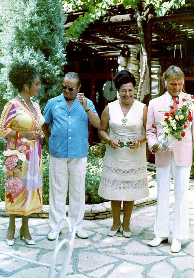 Josip Broz Tito & Elizabeth Taylor
