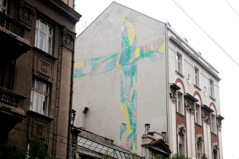 terazije 40 mural