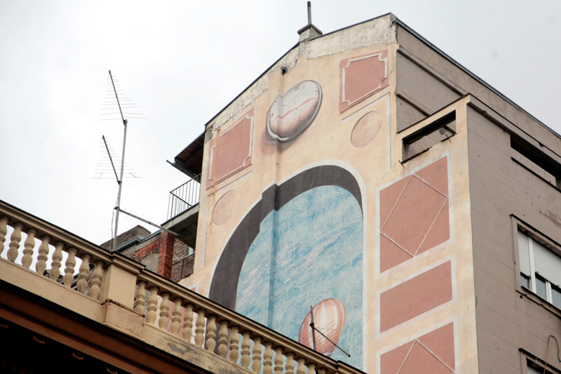 terazije 43 mural