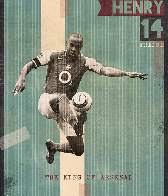 The Gods Of Football Revived on Superb Posters