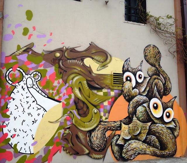Street Art in Savamala: Interviews with artists