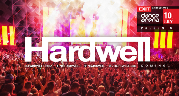 WOLRD N.O. 1 DJ & PRODUCER HARDWELL HEADLINES EXIT FESTIVAL DANCE ARENA Hardwell set to premiere at EXIT, plus 2014 aftermovie unveiled