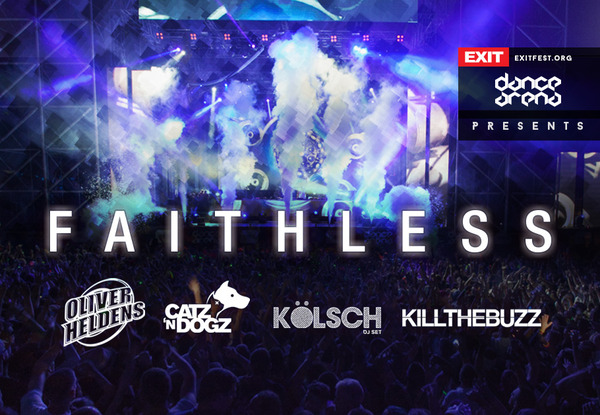 Faithless celebrate 20 years with historic performance at Exit Festival