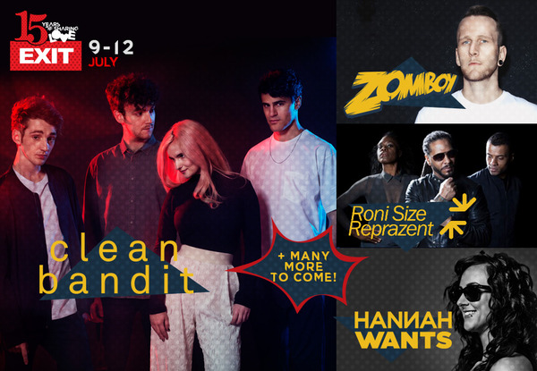 Clean Bandit and Roni Size Celebrate 15 Years of Exit Festival