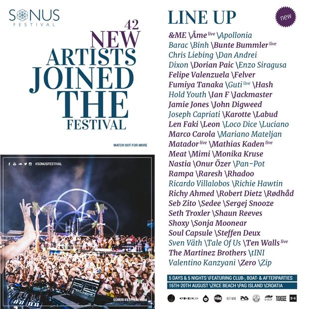 Sonus Festival 2015: More Line Up Revealed