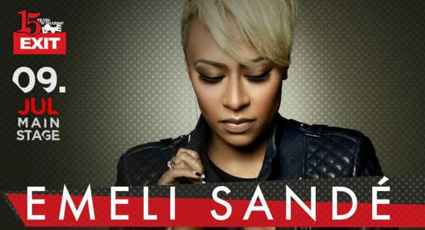 LEADING SOUL LADY IN THE WORLD EMELI SANDÉ TO OPEN 15TH EXIT FESTIVAL!