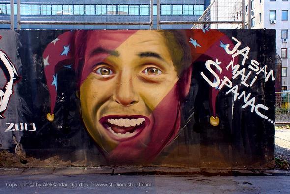 Beograd grafiti Spanac 007 EDIT
