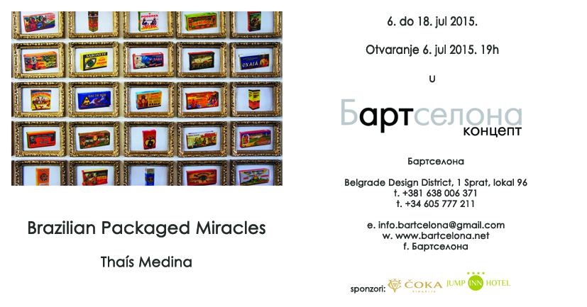"""Brazilian Packaged Miracles"" by Thaís Medina"
