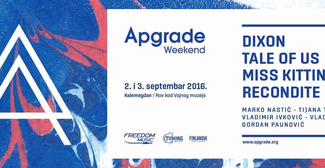 Get Ready for another Apgrade Weekend with Tale of Us, Dixon & Miss Kittin