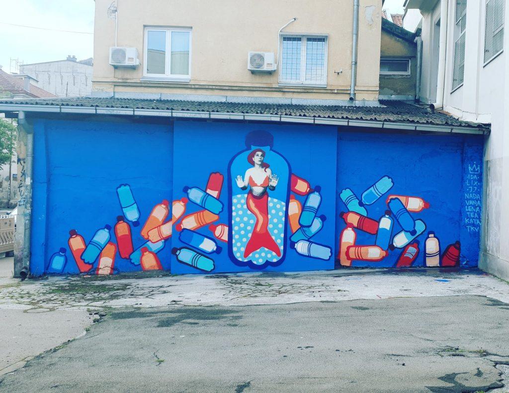 belgrade murals