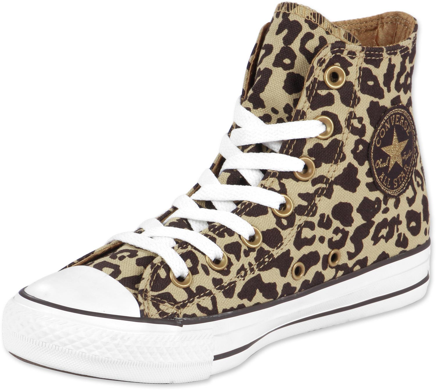 converse all star hi w schuhe leopard braun 100 zoom 0. Black Bedroom Furniture Sets. Home Design Ideas