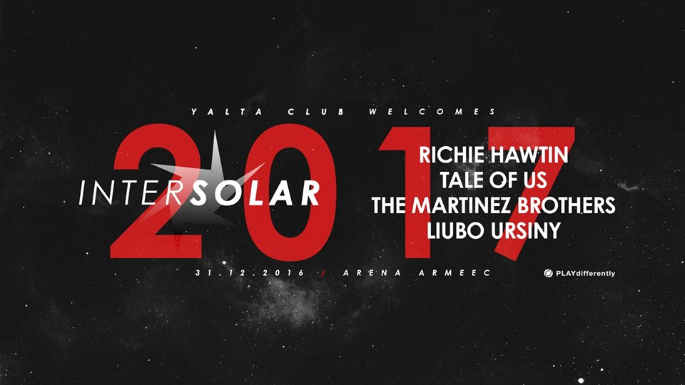 Richie Hawtin, Tale of Us and Martinez Brothers welcomes the New Year in Sofia, Bulgaria