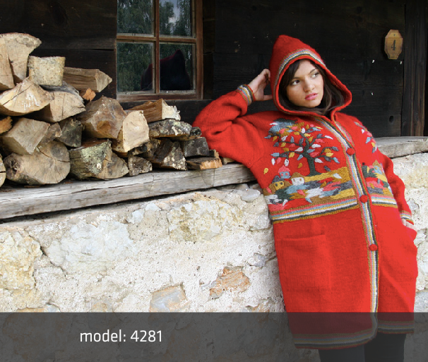 Warm Up Yourself in Sirogojno Sweater