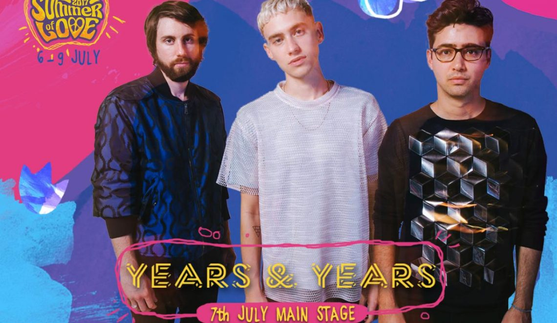 British hit trio Years & Years to Perform at EXIT Festival