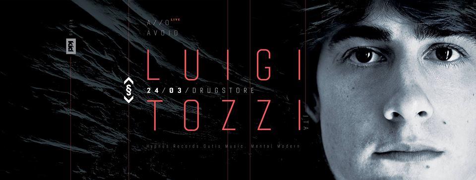 Luigi Tozzi to Play at Drugstore