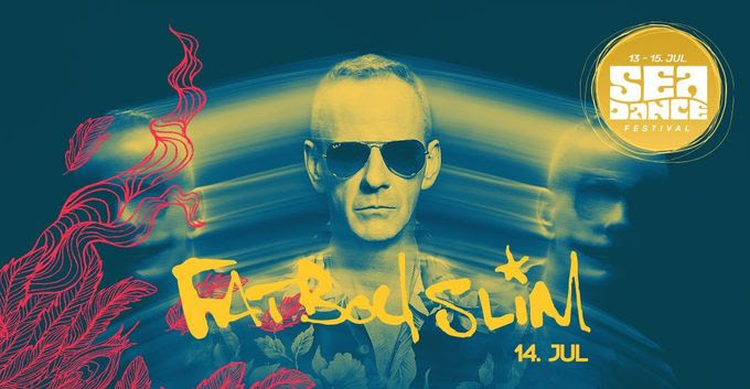 FATBOY SLIM TO HEADLINE SEA DANCE FESTIVAL AT JAZ BEACH!