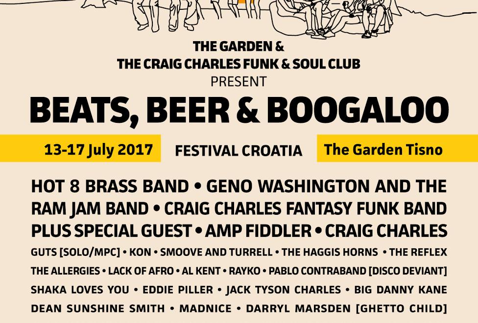 Croatia's brand new festival Beats, Beer and Boogaloo