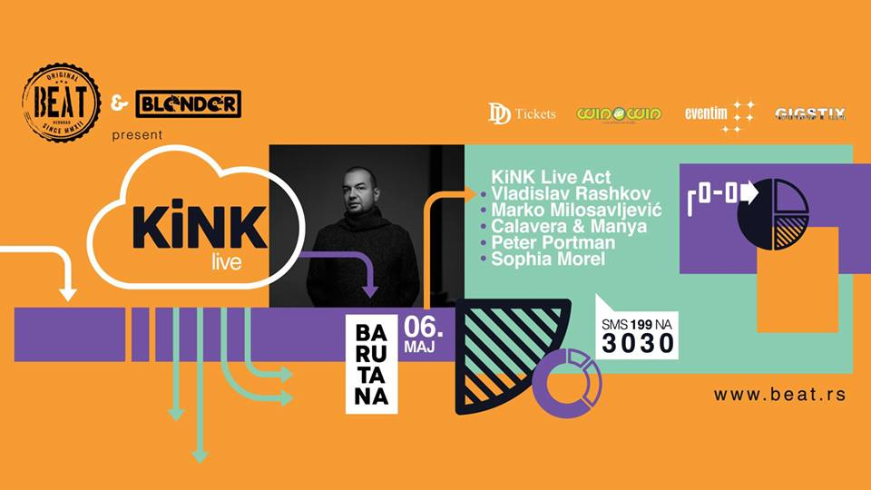 Beat Party Presents Kink Live in Barutana