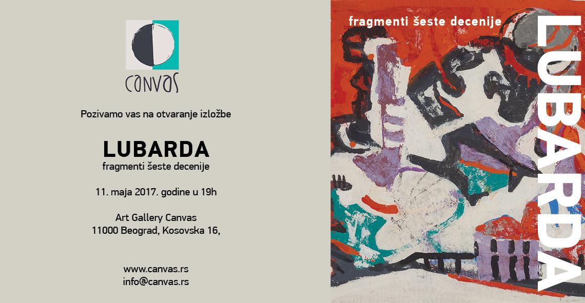 """Art Exhibition: """"Petar Lubarda – Fragmenti šeste decenije"""""""