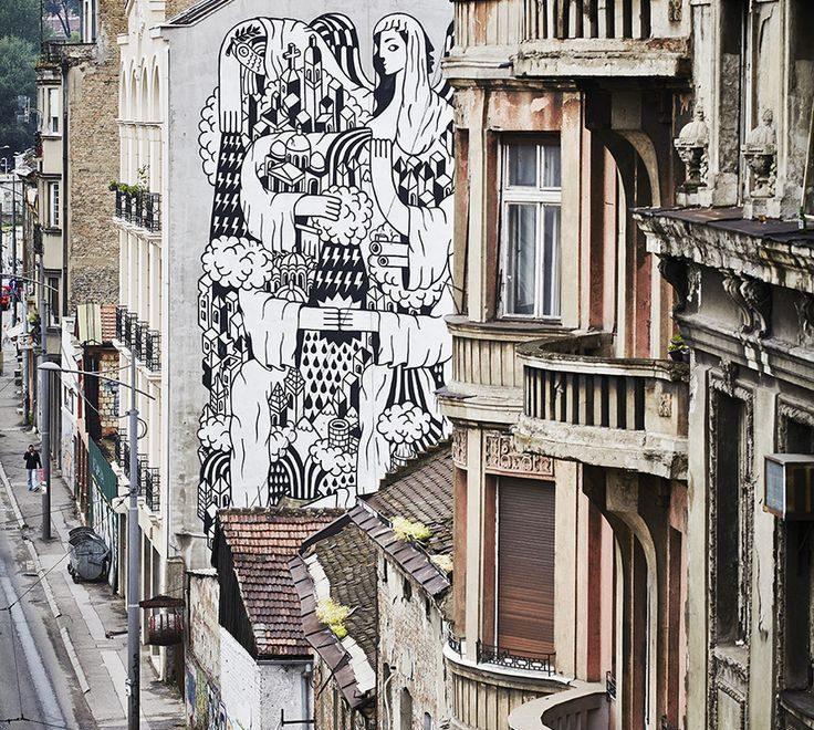 belgrade mural