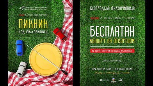 Picnic with Belgrade Philharmonic Orchestra