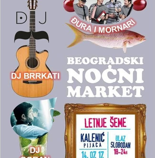 "Visit Belgrade Night Market: ""The Summer Schemes"""