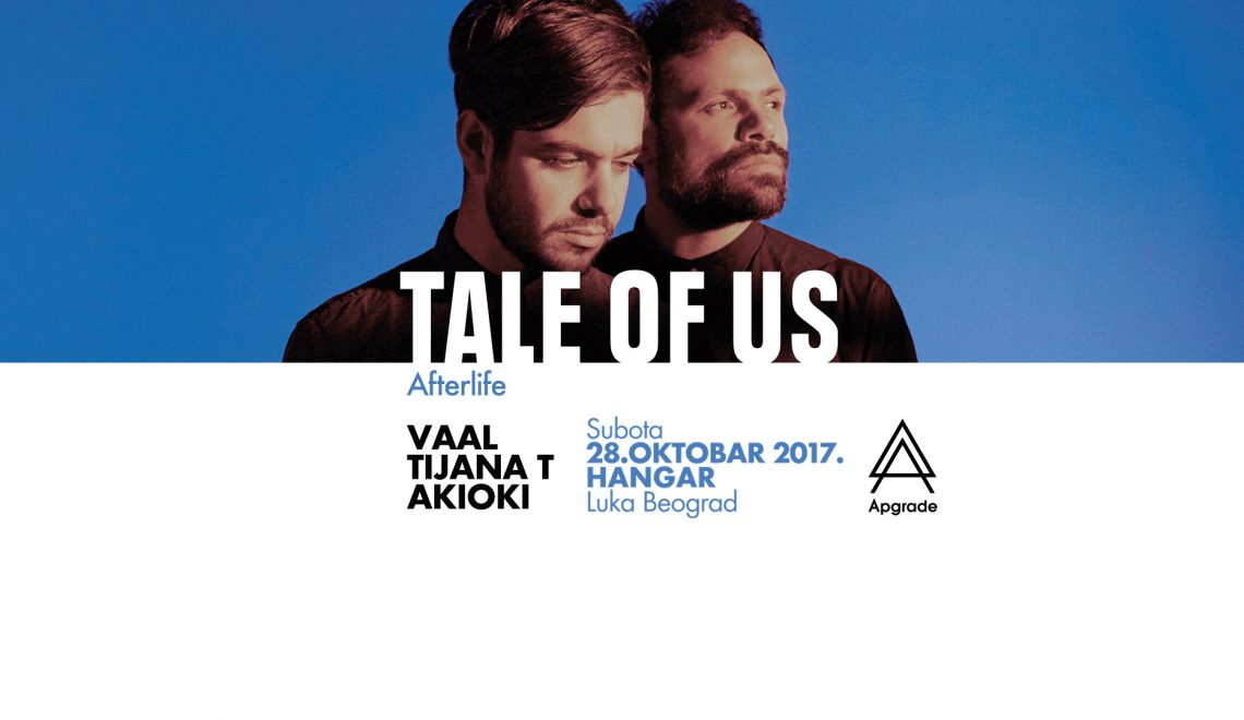 Apgrade party with Tale of Us at Hangar Luka Beograd