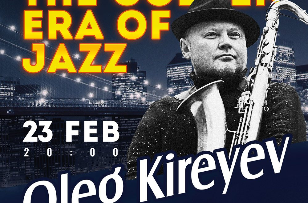 Jazz stories with Oleg Kireyev