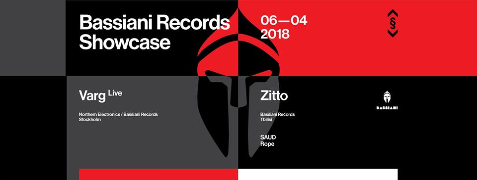 Bassiani showcase with Varg and Zitto at Drugstore