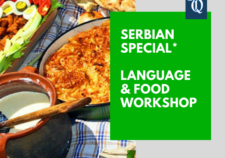 Serbian – the yummiest of all languages