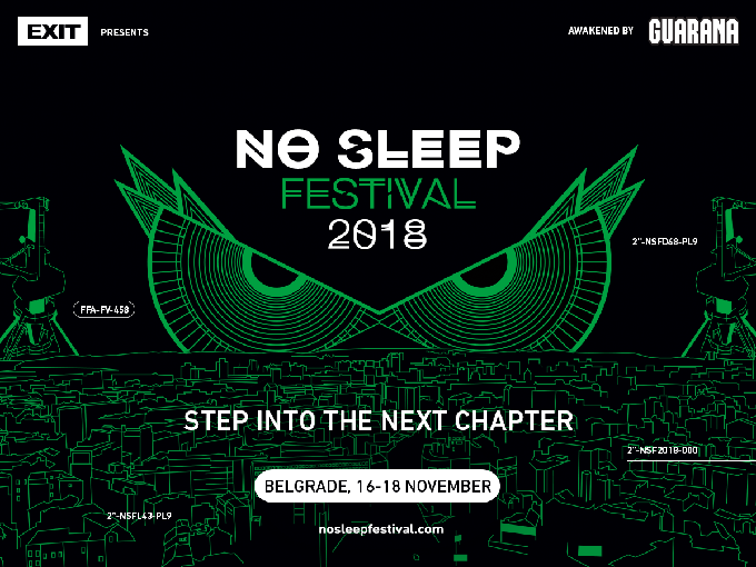 EXIT announced a new No Sleep Festival in Belgrade: First acts include Nina Kraviz, Dax J and I Hate Models