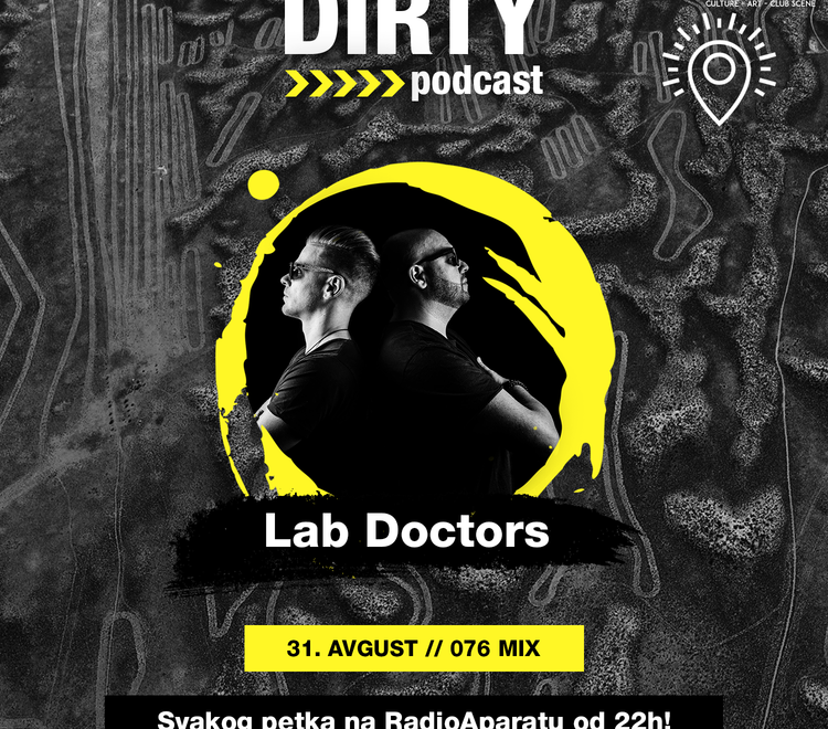 Dirty Podcast Presents Lab Doctors: Interview & Guest Mix