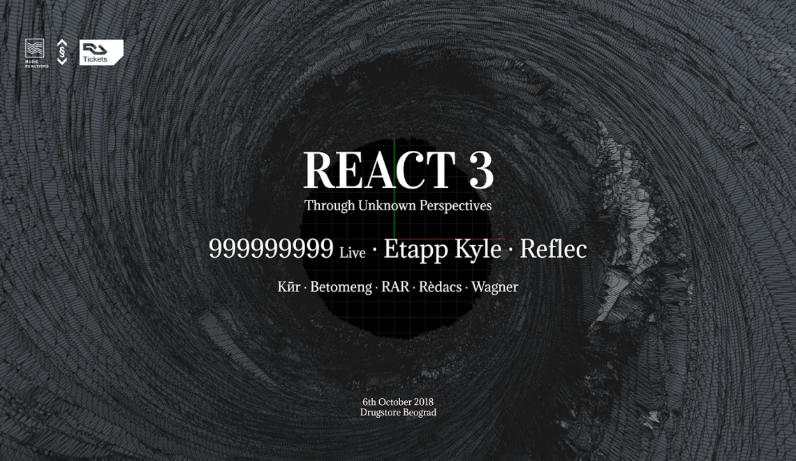 React 3: Through Unknown Perspectives with Music Reactions