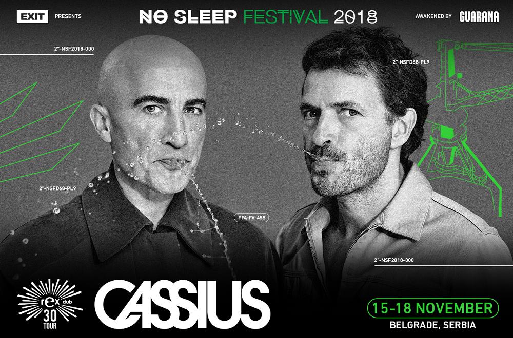 Parisian Nightlife Symbol Celebrates Its 30th Anniversary in Belgrade, Cassius and Lee Burridge are Coming to No Sleep Festival!