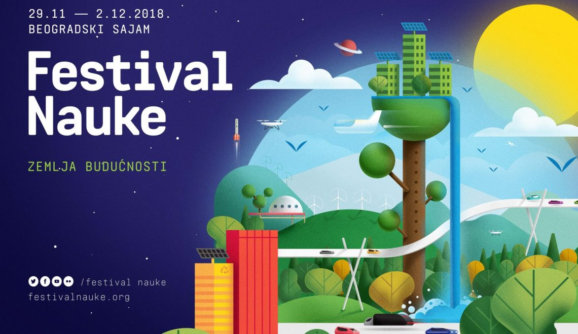 12th Science Festival From 29th of November until 2nd of December Future Earth