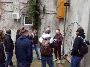 Street art workshop belgrade