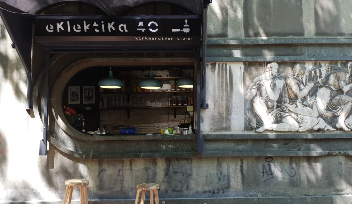 eklektika 40 coffee shop in Belgrade