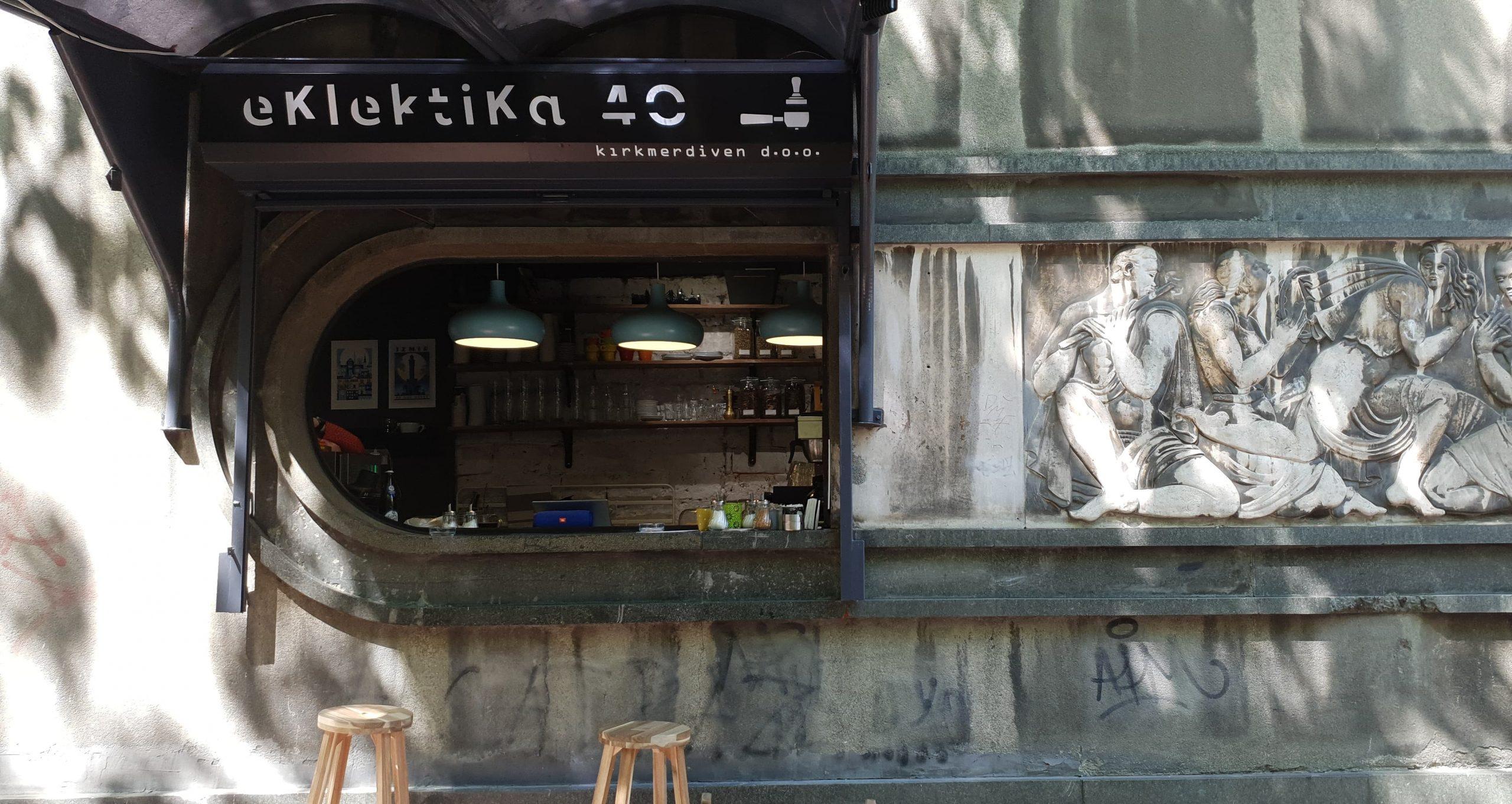 eklektika 40 coffee shop in Belgrade