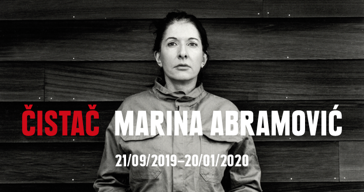 THE CLEANER, MARINA ABRAMOVIC RETROSPECTIVE EXHIBITION @ MoCAB