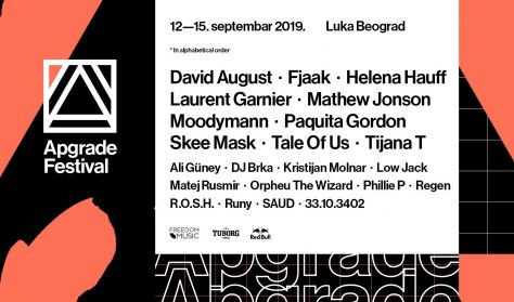 Apgrade Festival 2019 full line up revealed!