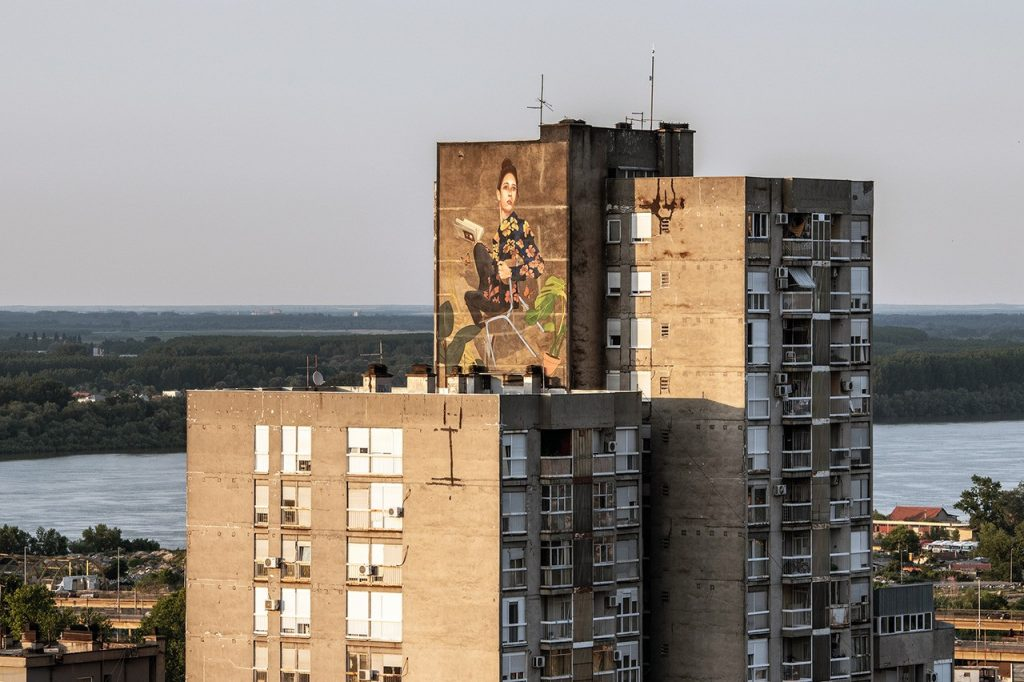 artez street art belgrade