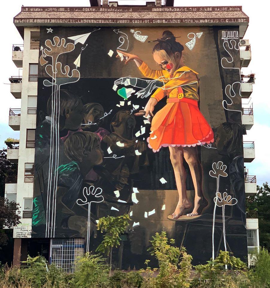 murals belgrade