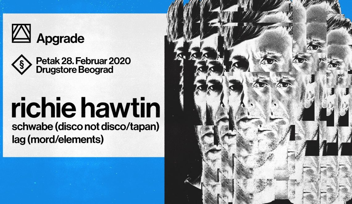 Apgrade to Host Richie Hawtin at Drugstore