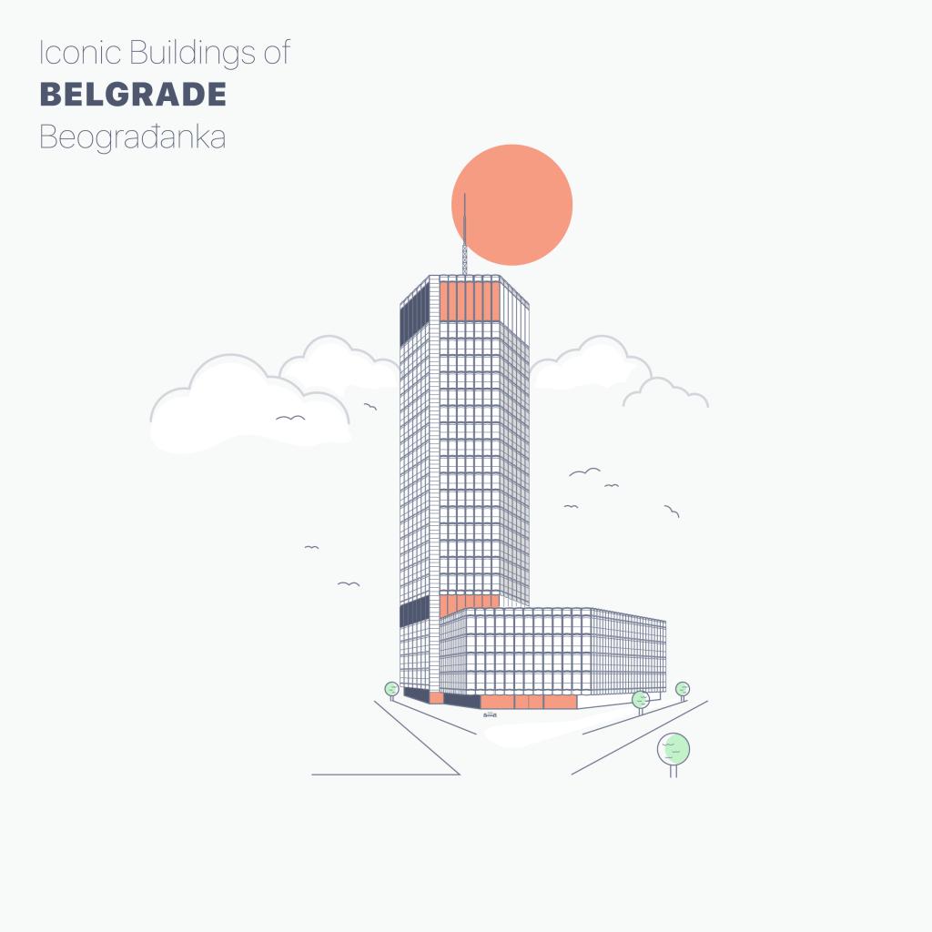 iconic buildings of belgrade