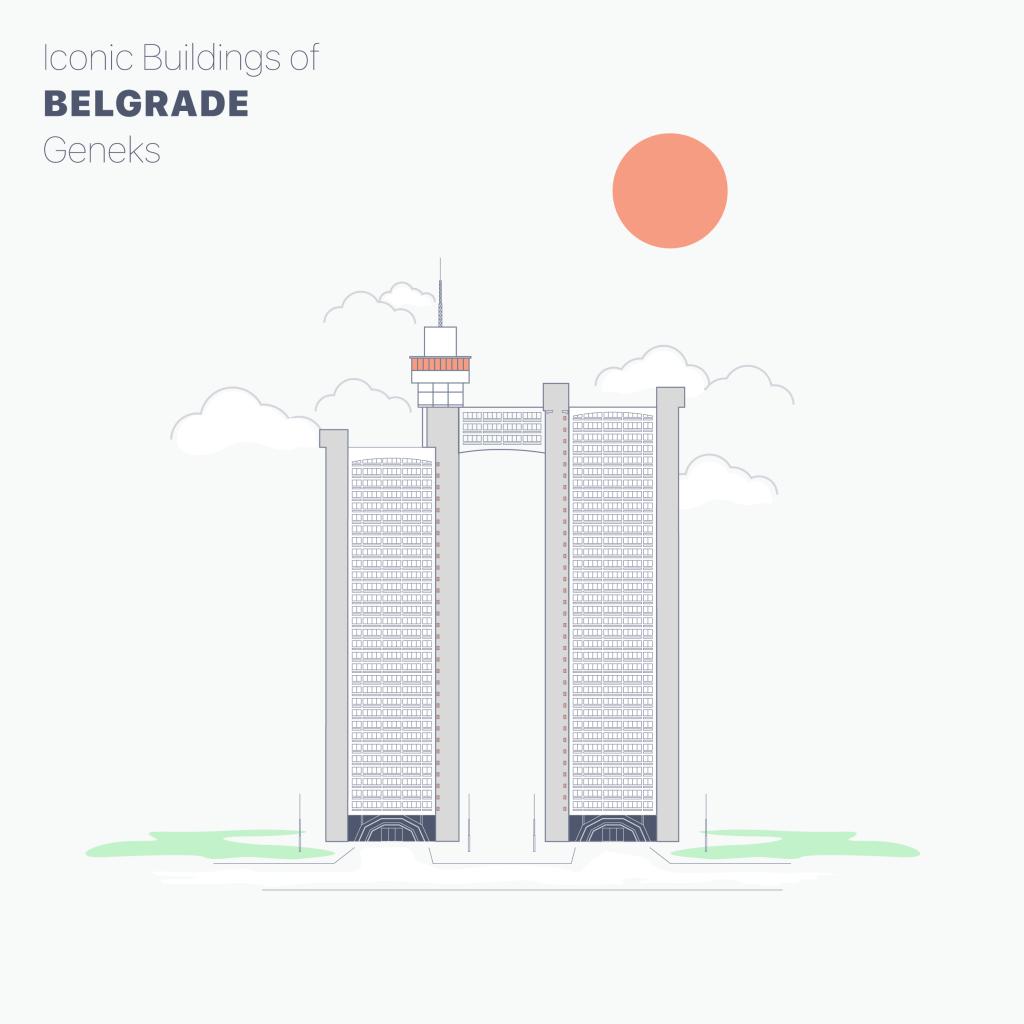 Genex tower belgrade