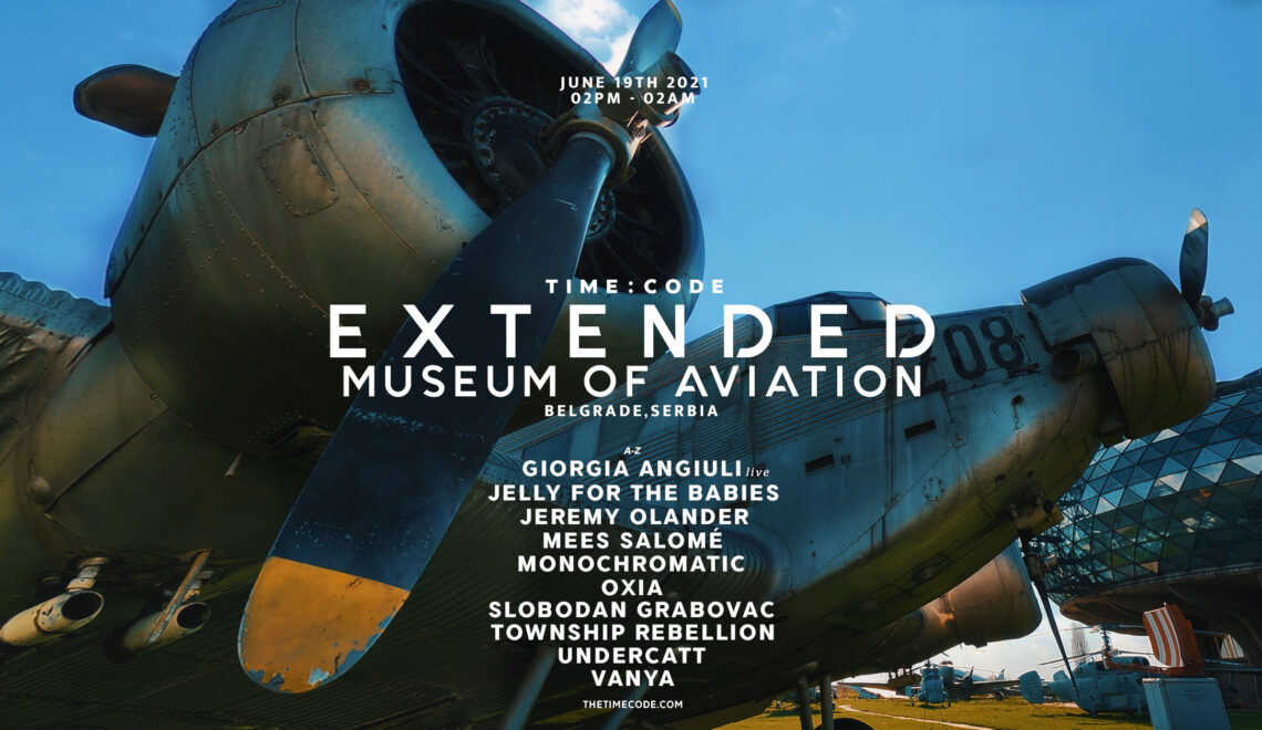 TIME: CODE EXTENDED PARTY at Museum of Aviation